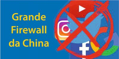 A Grande Firewall da China: Sites Banidos na China Edição 2020