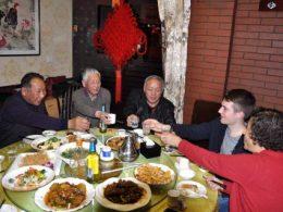 Jantar com a família de acolhimento LTL