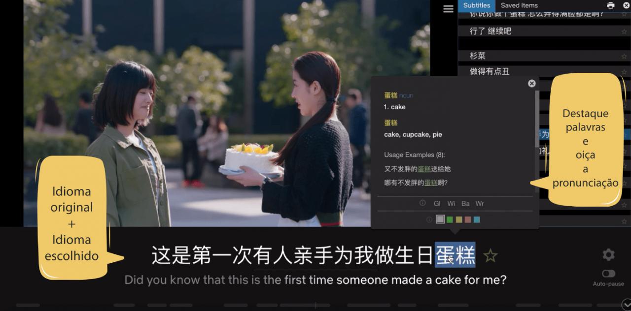 LLN Aprender chinês com Netflix