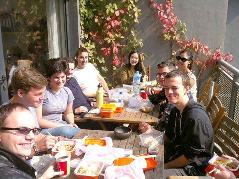 Lunch Club LTL atividades em pequim