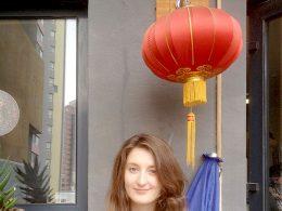 Fazendo uma pausa das aulas de chinês