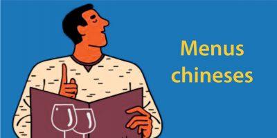 Menus chineses explicados – Como ler um menu chinês