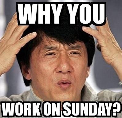 A regulação dos feriados nacionais na China pode transformar um domingo em um dia normal de trabalho