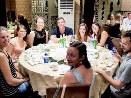Eventos depois das aulas na LTL Xangai