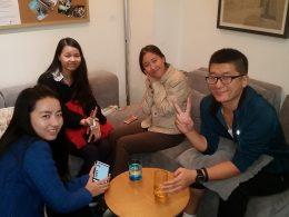 Nossos professores de mandarim em Pequim