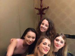 Visita ao Pato Assado para a Marie, Jasmine, Annalisa e Cristina