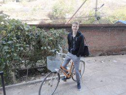 A caminho da aula em Chengde