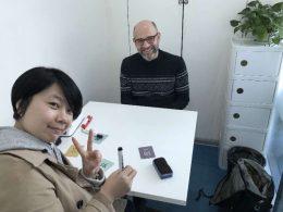 Aprendendo chinês em Xangai