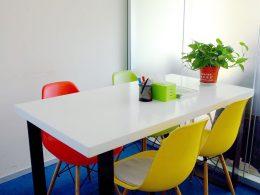 Sala de aula de grupos de chinês
