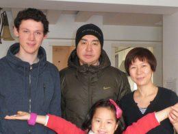 Nossa família de acolhimento chinesa em Pequim