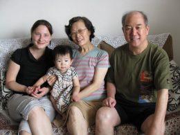 Família de acolhimento chinesa em Pequim