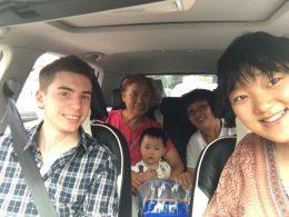 Dia de passeio com a família de acolhimento e pessoal da LTL