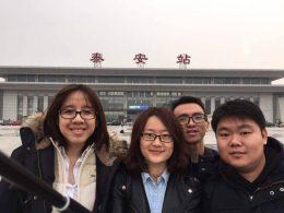 Visita de fim de semana na China