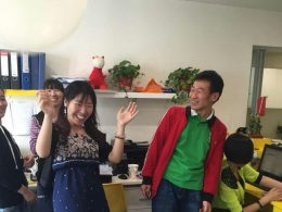 Hora da festa na LTL Pequim