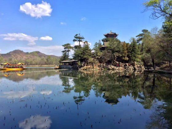Bela paisagem em Chengde