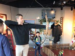Tempo para tiro com arco em Chengde