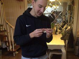Max fazendo bolinhos em Chengde