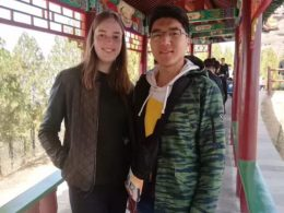 Misturando com os locais em Chengde