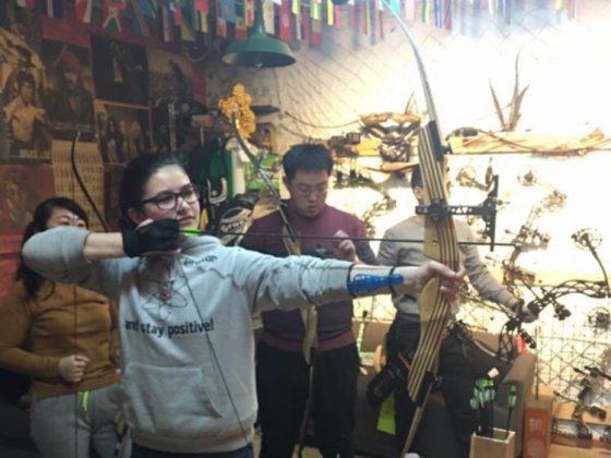 Tiro com arco em Chengde