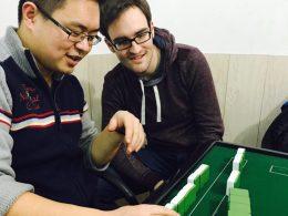 Aprendendo jogos chineses em Chengde