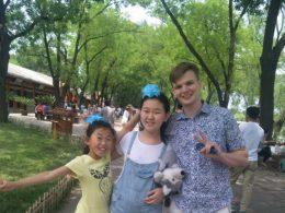 Imergindo em Chengde