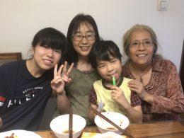 Viver com uma família chinesa