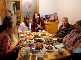 Hora de comer com Família de Acolhimento em Chengde