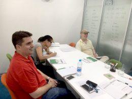 Aprenda chinês em Xangai – Aula em pequeno grupo