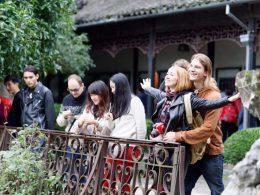 Explorando as áreas vizinhas à Xangai