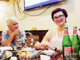 Jantar de quarta-feira à noite em Xangai