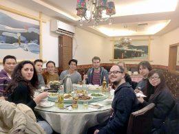 Jantar de quarta-feira para a LTL Xangai