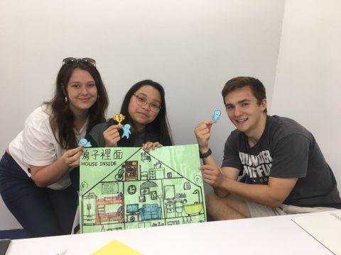 Nuttanicha estudando mandarim em Taiwan