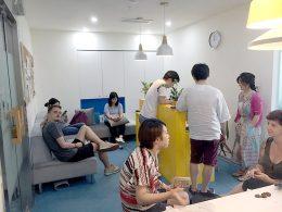 Hora de almoço na LTL Xangai