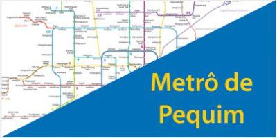 Mapa do Metrô de Pequim: Descubra todas as 394 Estações e 23 Linhas