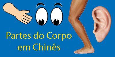 Partes do Corpo em Chinês – Da cabeça aos pés