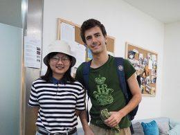Professora Dannie e aluno