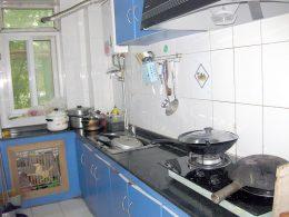 Cozinha em Casa de Acolhimento em Xangai
