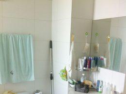 Banheiro do apartamento em Xangai