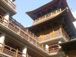 Um dia de sol em Xangai