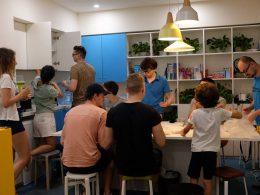 Clube de almoço em Xangai