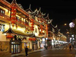 Cidade Antiga em Xangai