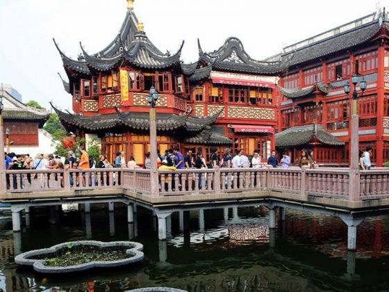 Jardins Yu Yuan em Xangai