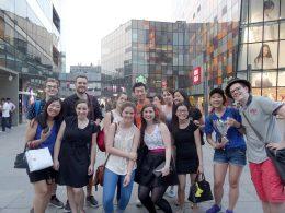 Fazendo compras em Pequim
