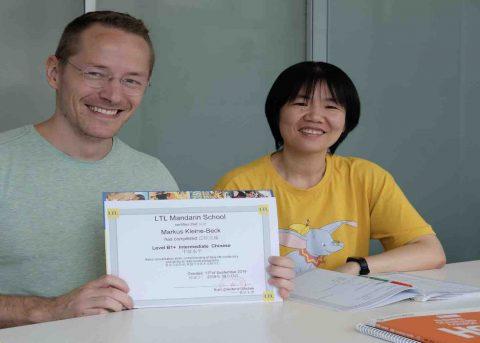 Estudar chinês em Taiwan