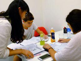 Estudando chinês em Xangai