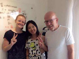 Aprendendo chinês em Pequim com a professora Lucy