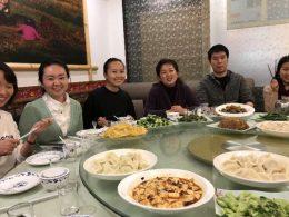Comida deliciosa em Xangai