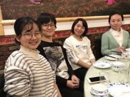 Hora da comida em Xangai